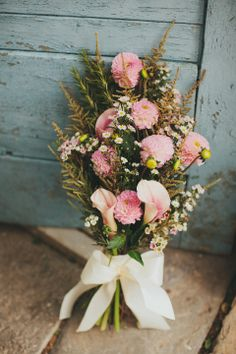 Rustic Pink Bridal bouquet #Wedding #TheBouquet #PinkWedding Rustic Wedding