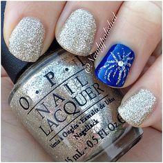 juli nail, beauti nail, fourth of july nails, firework toe nails, newlypolish