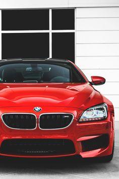 Cherry apple red BMW