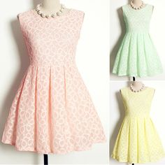 Vintage Floral Print Scoop Neck Sleeveless A-Line Pleated Women's Dress