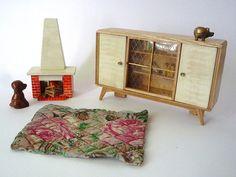 more cute vintage dollhouse furniture