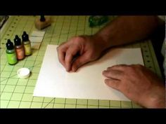 Creating Your Own Designer Paper Using Alcohol Inks