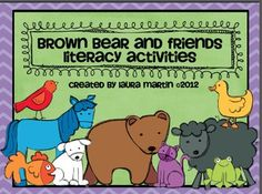 This mini-unit is loaded with engaging Literacy activities to use with the classic book, Brown Bear, Brown Bear or a unit on Color! 5.00