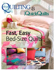 These free eBooks from McCall's Quilting and McCall's Quick Quilts bring you numerous free quilting patterns, quilting tips and projects to enjoy. Download your favourite eBook now and enjoy!