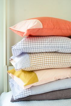 DIY Pillowcases for Every Bed | The Purl Bee #pillowcases