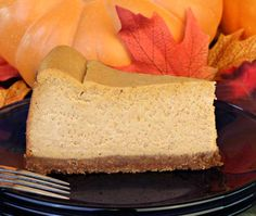 A holiday classic. This pumpkin cheesecake recipe is a great diabetic dessert option due to the enormous amount of vitamin A packed in every delicious bite.