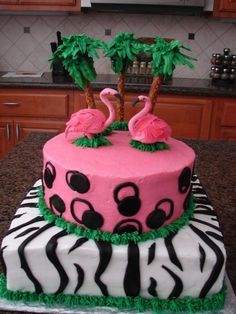 Another flamingo cake