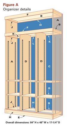 Entryway Storage and Organizer