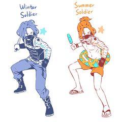 Winter Soldier/Summer Soldier