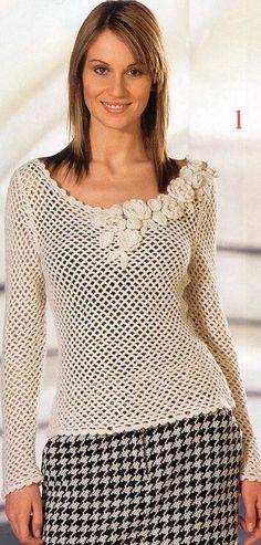 Журнал по вязанию. 10. журнал, Маленькая Диана, Маленькая Diana, осенние модели, вязание крючком, жакеты, пуловеры