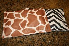 Homemade heating pads!