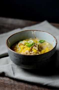 Chicken  Sweet Corn Soup | A Brown Table
