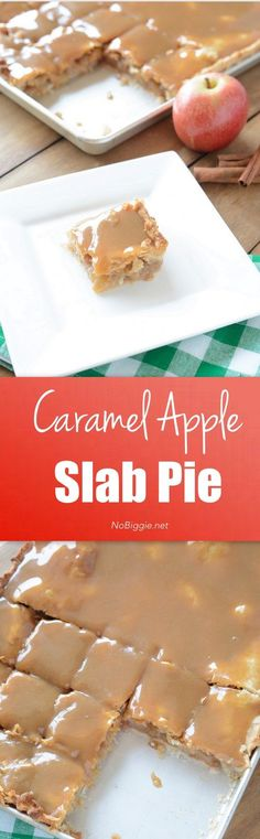Caramel Apple Slab P