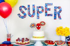 Tips for throwing a superhero party
