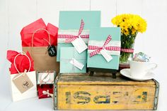 Spotlight: Erica Clark & Her Welcome Packets With Packaging