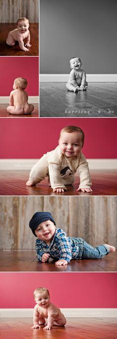 9 month photo shoot. SO cute!
