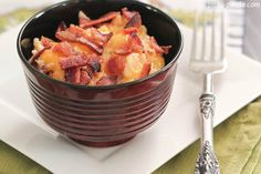 Cheesy Chicken and Rice Skillet Dinner with Bacon 4