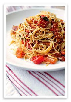 Bacon Tomato Pasta Recipe