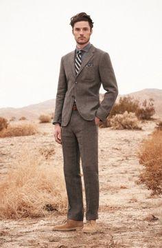 Great shirt, tie, suit combo.