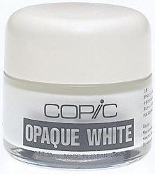*Copic OPAQUE WHITE Pigment 30cc Jar WOW