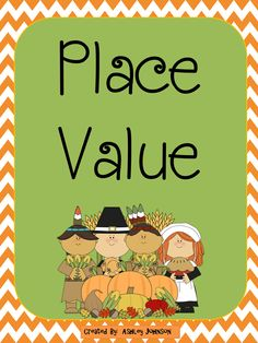 This place value match is a great activity for whole or small groups and Math Stations.