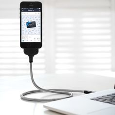 Une Bobine Charger for iPhone 5/5s & 5c - Defying Gravity!