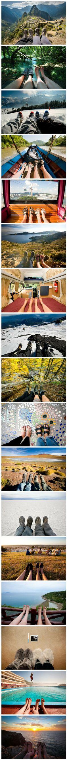 traveling feet