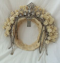 Crown, Bridal Custom Made to Order, Vintage Couture, Victorian, Wedding Crowns, Stage and Film Accessories, OOAK Custom Crowns