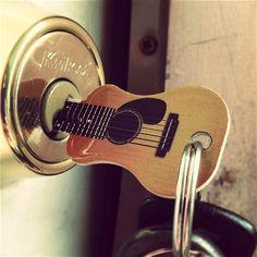 Acoustic Guitar Key by Rockin' Keys - $10