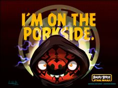 The porkside #starwars #angrybirds