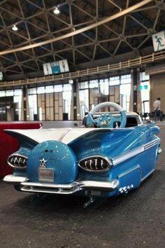 1959 impala pedal car...