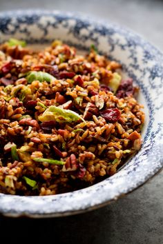 Wild Rice Pilaf with