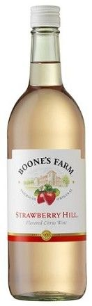 Boone's Farm Strawberry Hill Wine...ohhh boy...99 cents a bottle.