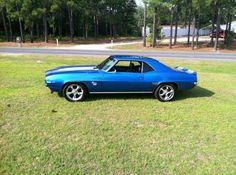 Blue 69 Camaro