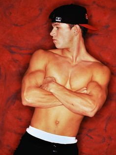 Mark Wahlberg | When he was an underwear model. Ok, I had the CK boxer briefs poster... HOT!