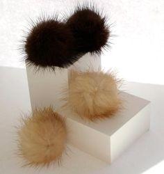 Fur Earrings