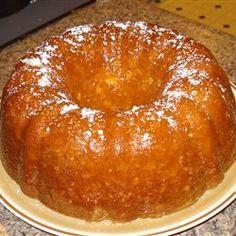 Orange cake - truly amazing recipe