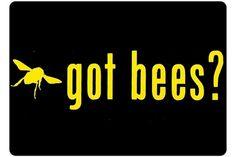 Got Bees  Honey Bee Car Window Decal