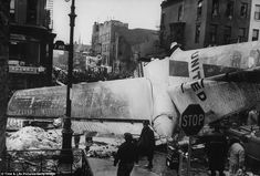 The 1960 New York Air Disaster: A United Airlines (DC-8) Flight 826 and Trans World Airlines (L-1049) Flight 266 collide in midair on 16 December 1960. The United planed crashed into the Brooklyn neighborhood of Park Slope, killing all 128 people on board the two airliners and an additional 6 people on the ground.