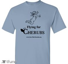 Check out Cheer on CHERUBS in the DareMe4Charity contest fundraiser t-shirt. Buy one & share it to help support the campaign!