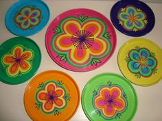IRA retro coasters by Anita Wangel from the 60s. #ira #denmark #danmark #coasters #anita #wangel #retro #kitchenware