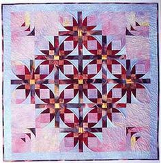 Southwind Designs: Mexican Stars Quilt Pattern