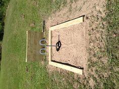 build horseshoe pit