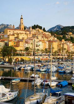 Menton, South of France