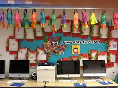 Chinese New Year Bulletin Board