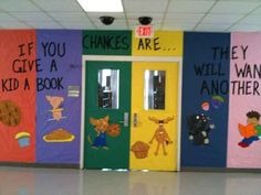 If You Give a Kid a Book ... | 31 Incredible Bulletin Boards For Back To School