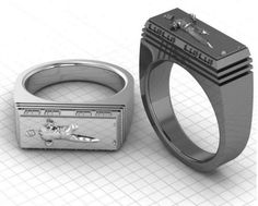 Han Solo Frozen in Carbonite Ring - Neatorama