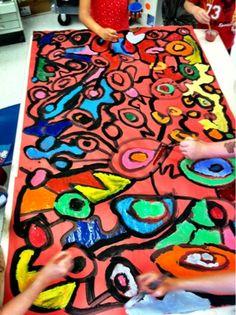 Group Murals -- All Grades