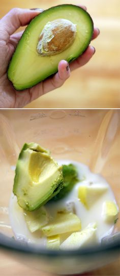 Creamy Avocado Smoothie, I'd try that.