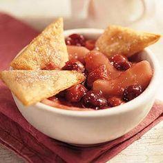 Apple-Cherry Cobbler